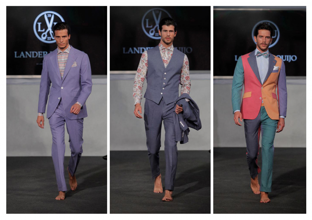 Desfile de Lander Urquijo en la Madrid Fashion Show Men