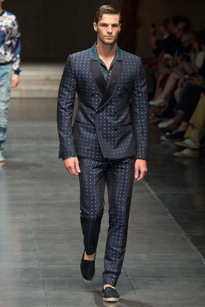 Dolce&Gabbana menswear en la Milan Fashion Week SS16