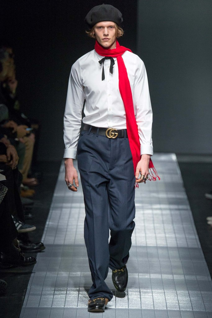 Gucci Fall 2015 menswear Millan Fashion Week