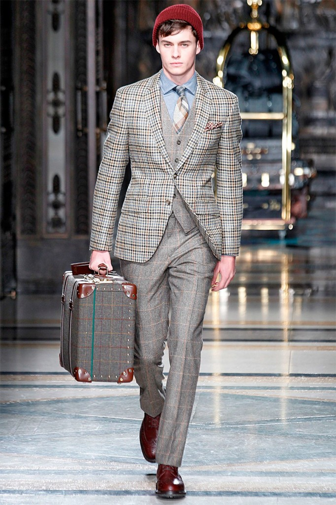 Hackett-london AW 14 en la LCM