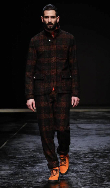Oliver Spencer AW14 London Collections: men
